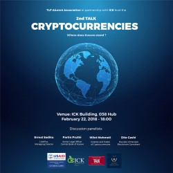 2nd TALK - Cryptocurrencies