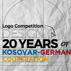 Design 20 Years of Kosovar-German Cooperation (Logo Competition)