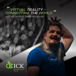 Virtual Reality - Connecting the World (Lecture by Prof. Simon McCallum