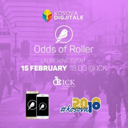 Odds of Roller - Launching event