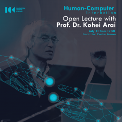 Human-Computer Interaction-Open Lecture with Dr. Kohei Arai
