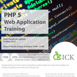 PHP5 WEB APPLICATION