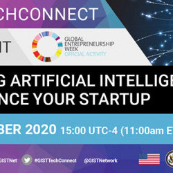 GIST TechConnect: Utilizing Artificial Intelligence to Advance Your Startup
