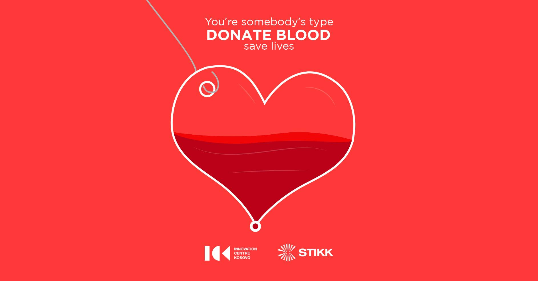 You're somebody's type. Donate blood. With love!