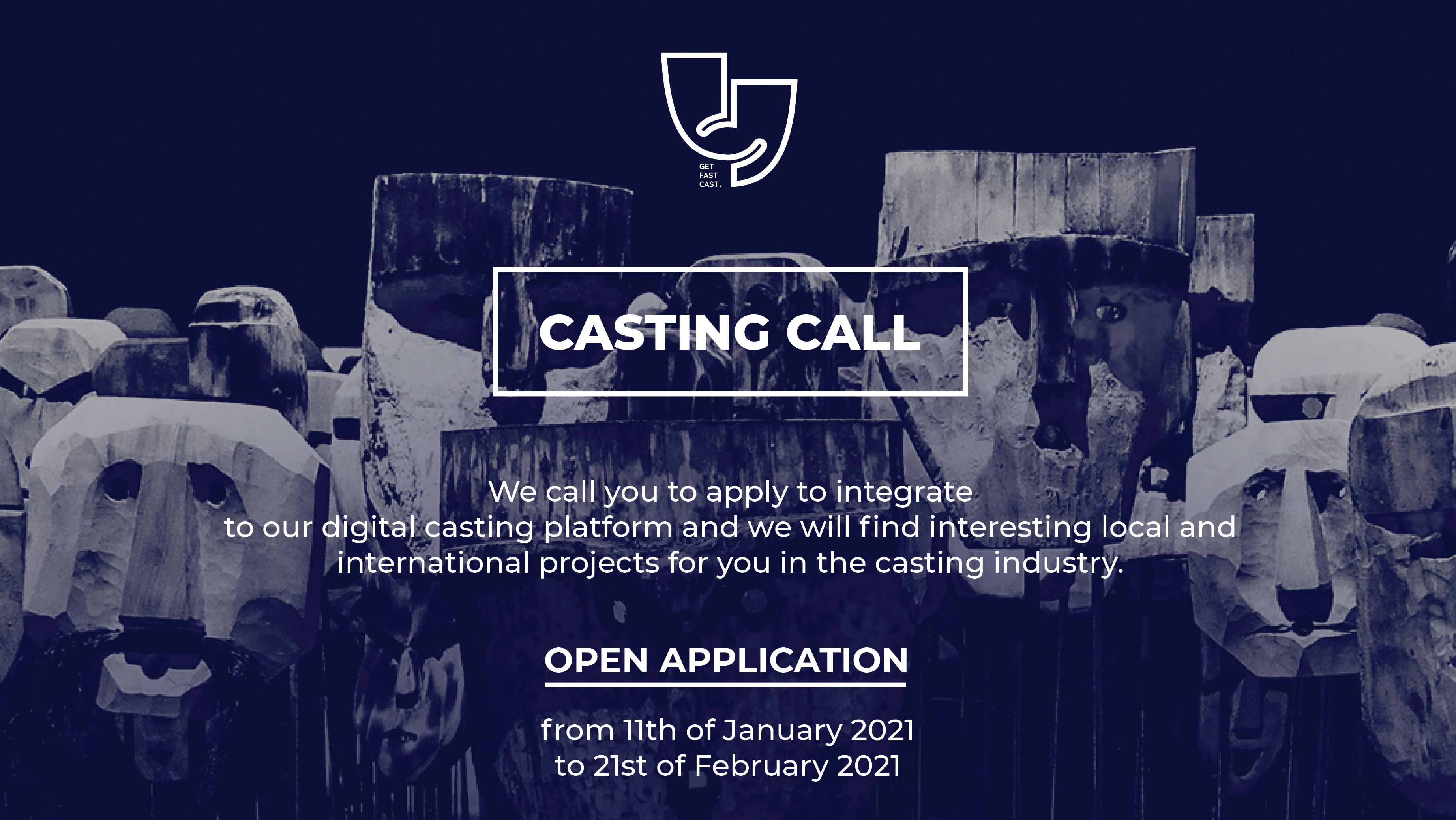Get Fast Cast hap thirrjen për gjetjen e talentëve