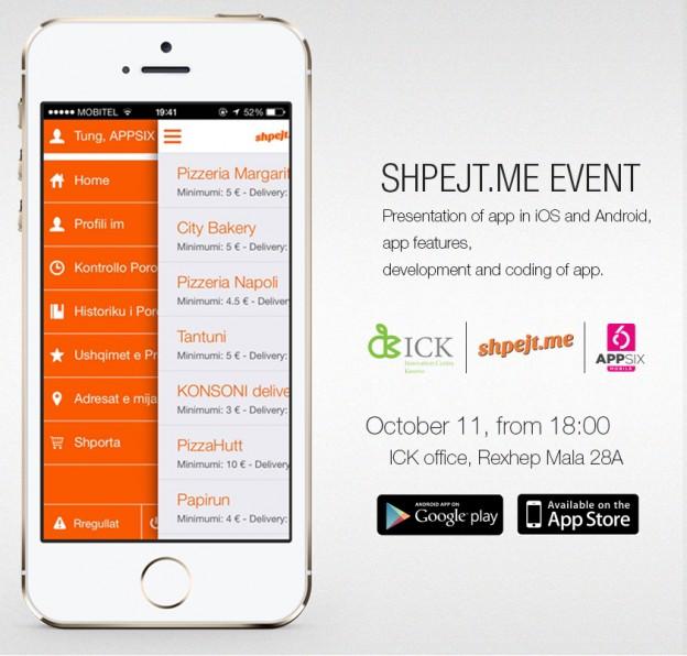 Presentation of Shpejt.me at ICK