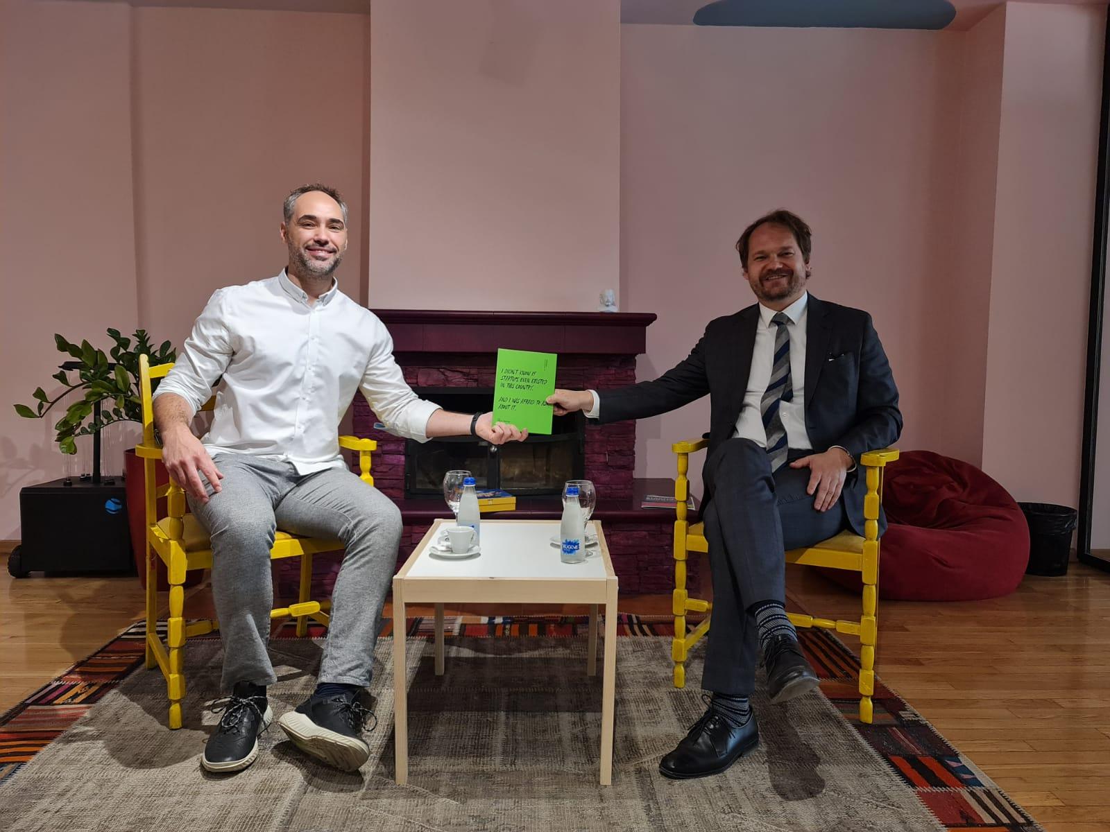 Ambasadori sllovak viziton ICK-në dhe ofron bashkëpunim