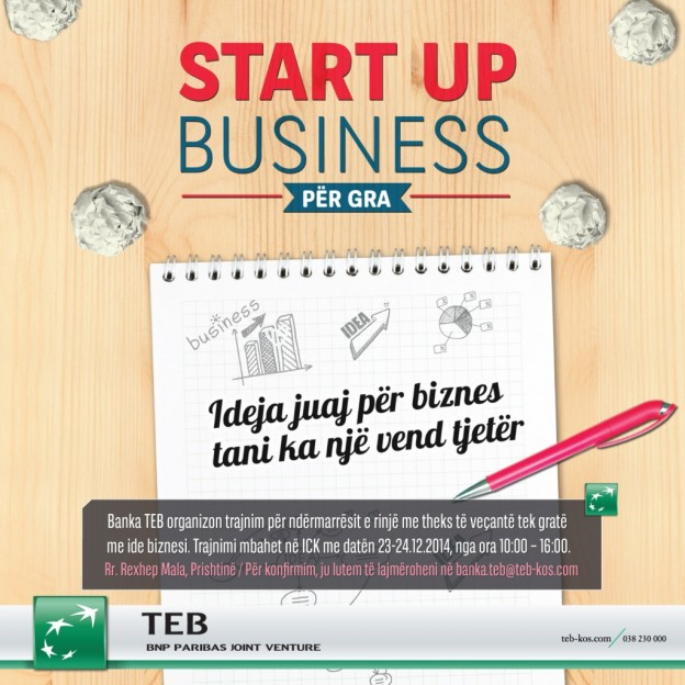 Entrepreneurship training by TEB Bank